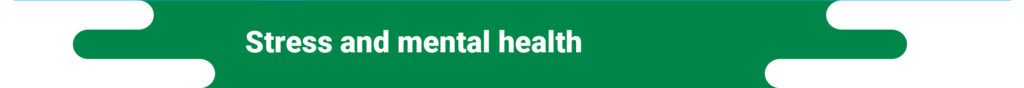 future of primary care - stress and mental health